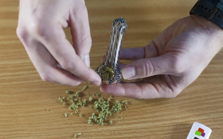 CBD-cannabis smoke